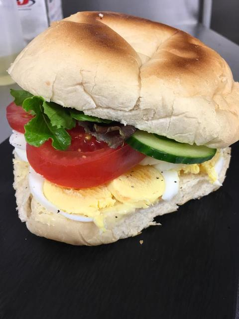Lancashire Muffin - Free Range Sliced Egg Salad