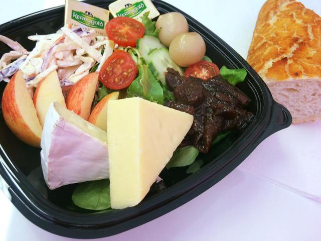 Mixed Cheese Ploughmans Salad Box