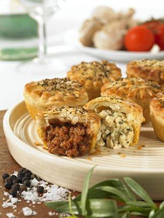 Six - Mini Chicken, Oak Smoked Bacon & Leek Pies