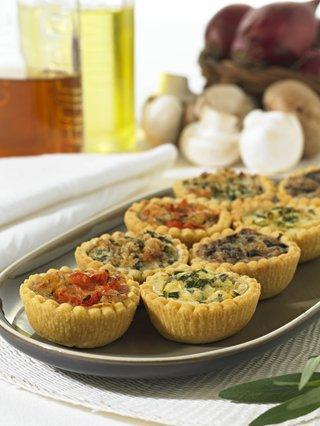 Six - Mini Stilton & Broccoli Quiche