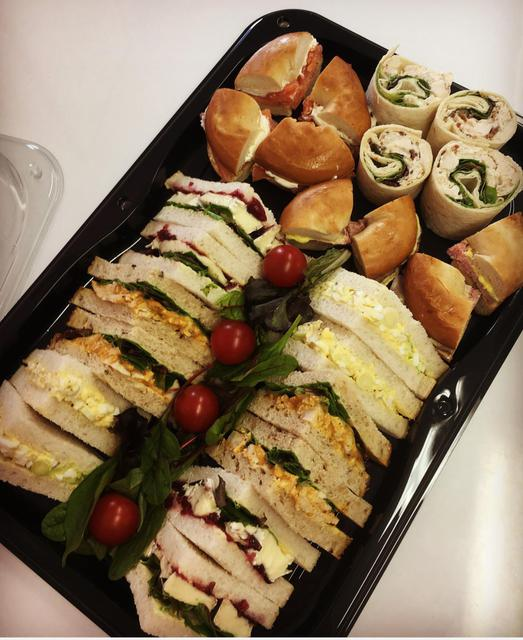 Freshly made sandwich platters for delivery sandwich platters 24hrs notice is required altavistaventures Images