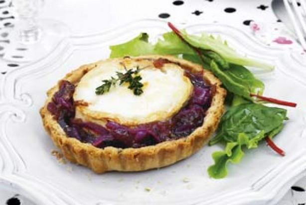Eight - Mini Tarts - Goats Cheese, Red Onion Chutney & Walnut