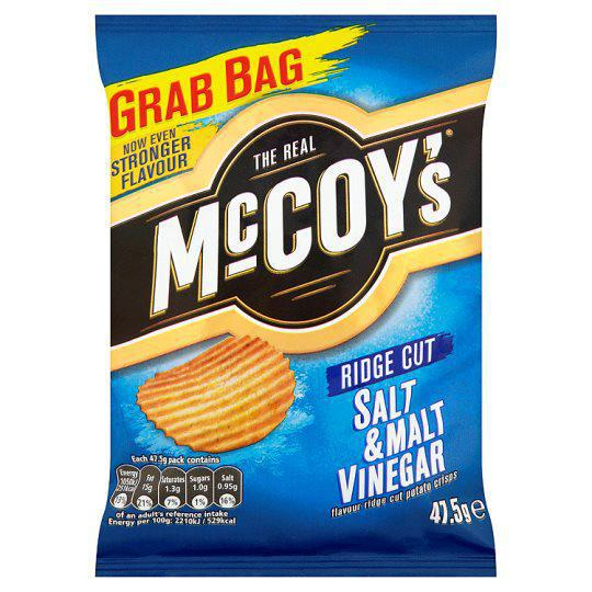 McCoys Salt & Malt Vinegar 47.5g