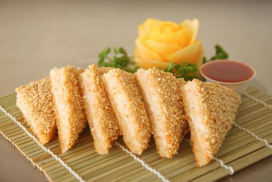 Six - Sesame Prawn Toasts