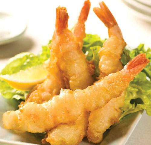 Six - Tempura Battered King Prawns